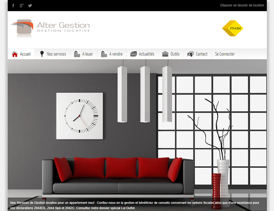 Site Web Alter Gestion