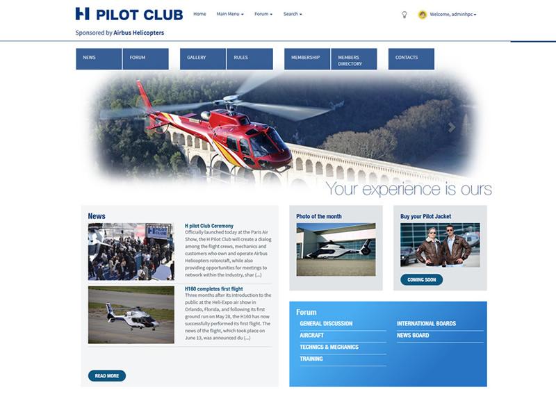 H Pilot Club
