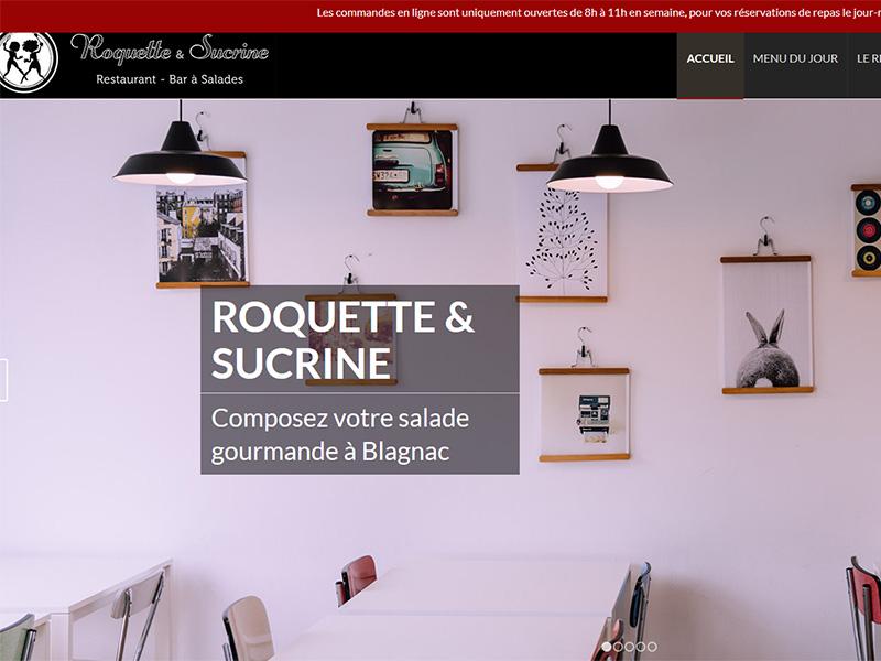 Roquette et Sucrine